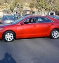 toyota camry 2010 red sedan le v6 6 cylinders automatic 06019