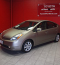 toyota prius 2008 beige hatchback touring hybrid 4 cylinders front wheel drive automatic 76116