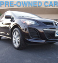 mazda cx 7 2010 black cherry suv s touring gasoline 4 cylinders front wheel drive automatic 75075