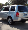 honda pilot 2011 silver suv ex l gasoline 6 cylinders front wheel drive automatic with overdrive 77074