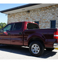 ford f 150 2005 maroon xlt gasoline 8 cylinders rear wheel drive 4 speed automatic 78744
