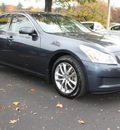 infiniti g35 2007 gray sedan x gasoline 6 cylinders all whee drive 5 speed shiftable automatic 27616