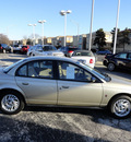 saturn sl2 1998 gold sedan gasoline 4 cylinders twin cam front wheel drive automatic with overdrive 60546