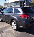 subaru outback 2012 gray wagon 2 5i limited 4 cylinders automatic 94063