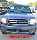 toyota sequoia 2003 dk  gray suv limited gasoline 8 cylinders rear wheel drive automatic 76051
