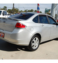 ford focus 2009 gray sedan ses gasoline 4 cylinders front wheel drive automatic with overdrive 77706
