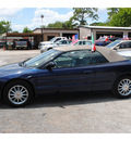 chrysler sebring 2006 dk  blue touring gasoline 6 cylinders front wheel drive automatic 77018