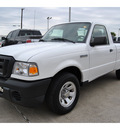 ford ranger 2010 white gasoline 4 cylinders 2 wheel drive automatic 77539