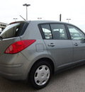 nissan versa 2007 gray hatchback 1 8 s gasoline 4 cylinders front wheel drive automatic with overdrive 76011
