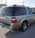 ford expedition el 2008 lt  gray suv limited gasoline 8 cylinders 2 wheel drive automatic 75119