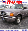 ford ranger 1996 gray xlt gasoline 4 cylinders rear wheel drive 4 speed with overdrive 45840