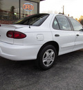 chevrolet cavalier 2000 white sedan ls gasoline 4 cylinders front wheel drive automatic 45840
