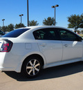 nissan sentra 2012 white sedan special edition gasoline 4 cylinders front wheel drive automatic with overdrive 76018