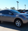 nissan rogue 2010 lt  gray suv sl gasoline 4 cylinders front wheel drive automatic with overdrive 76018
