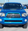 toyota tacoma 2009 lt  blue prerunner v6 gasoline 6 cylinders 2 wheel drive automatic with overdrive 77469