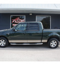 ford f 150 2003 green xlt gasoline 8 cylinders sohc rear wheel drive automatic 76513