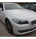 bmw 5 series 2013 white sedan activehybrid 5 6 cylinders automatic 78729