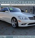 mercedes benz s class 2008 white sedan s550 gasoline 8 cylinders rear wheel drive shiftable automatic 27616
