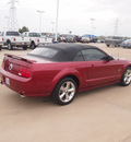 ford mustang 2007 dk  red gt premium gasoline 8 cylinders rear wheel drive 5 speed manual 76108