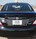 nissan versa 2013 black sedan gasoline 4 cylinders front wheel drive automatic with overdrive 76018