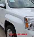 gmc terrain 2012 white suv slt 2 gasoline 4 cylinders front wheel drive automatic 76051