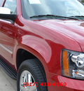chevrolet tahoe 2012 red suv ltz w navigation flex fuel 8 cylinders 2 wheel drive automatic 76051
