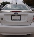 ford fusion 2009 white sedan se gasoline 4 cylinders front wheel drive automatic 76011