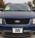 ford freestyle 2005 dk  blue suv sel gasoline 6 cylinders front wheel drive automatic 76011