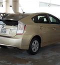 toyota prius 2010 tan iii hybrid 4 cylinders front wheel drive automatic 77477