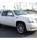 cadillac escalade esv 2013 white suv premium flex fuel 8 cylinders rear wheel drive automatic 77074