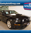 ford mustang 2009 black coupe gt premium gasoline 8 cylinders rear wheel drive automatic 75219