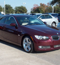 bmw 3 series 2008 dk  red coupe 335i gasoline 6 cylinders rear wheel drive shiftable automatic 77074