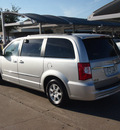 chrysler town and country 2012 silver van touring flex fuel 6 cylinders front wheel drive automatic 76049