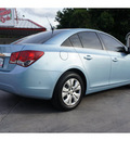 chevrolet cruze 2012 blue sedan ls gasoline 4 cylinders front wheel drive automatic 78520