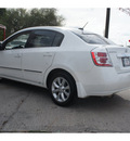 nissan sentra 2010 white sedan 2 0 sl gasoline 4 cylinders front wheel drive automatic with overdrive 78520