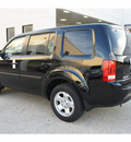 honda pilot 2013 black suv lx gasoline 6 cylinders front wheel drive not specified 77034
