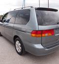 honda odyssey 2002 green van ex l gasoline 6 cylinders front wheel drive automatic 77375