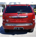jeep grand cherokee 2008 dk  red suv overland gasoline 8 cylinders 2 wheel drive automatic 33157