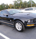 ford mustang 2009 black coupe v6 deluxe gasoline 6 cylinders rear wheel drive automatic 32401