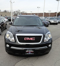 gmc acadia 2009 black suv slt gasoline 6 cylinders front wheel drive automatic with overdrive 60546
