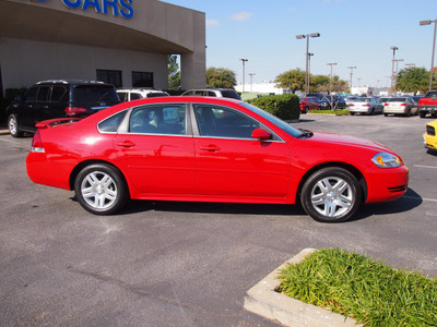 chevrolet impala 2012 red sedan lt flex fuel 6 cylinders front wheel drive automatic 75075