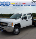 chevrolet silverado 3500hd cc 2012 summit white work truck 8 cylinders allison 76206