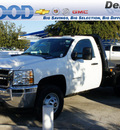 chevrolet silverado 3500hd cc 2012 summit white work truck 8 cylinders 6 speed automatic 75234