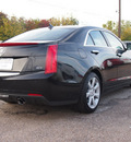 cadillac ats 2013 black sedan 3 6l performance 6 cylinders automatic 77074