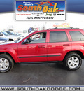 jeep grand cherokee 2009 red suv laredo 6 cylinders automatic 60443