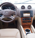 mercedes benz m class 2009 beige suv ml350 4matic 6 cylinders automatic 77388