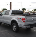 ford f 150 2010 silver fx4 flex fuel 8 cylinders 4 wheel drive 6 speed automatic 78501