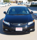 honda civic 2012 black coupe ex l gasoline 4 cylinders front wheel drive automatic 76053
