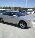toyota camry solara 1999 silver coupe se gasoline 4 cylinders front wheel drive automatic 75503