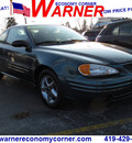 pontiac grand am 2002 dk  green coupe se1 gasoline 4 cylinders front wheel drive automatic 45840